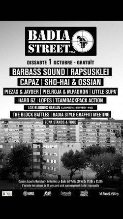 Badia Street Festival 2016