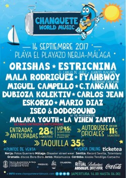 Chanquete World Music 2017
